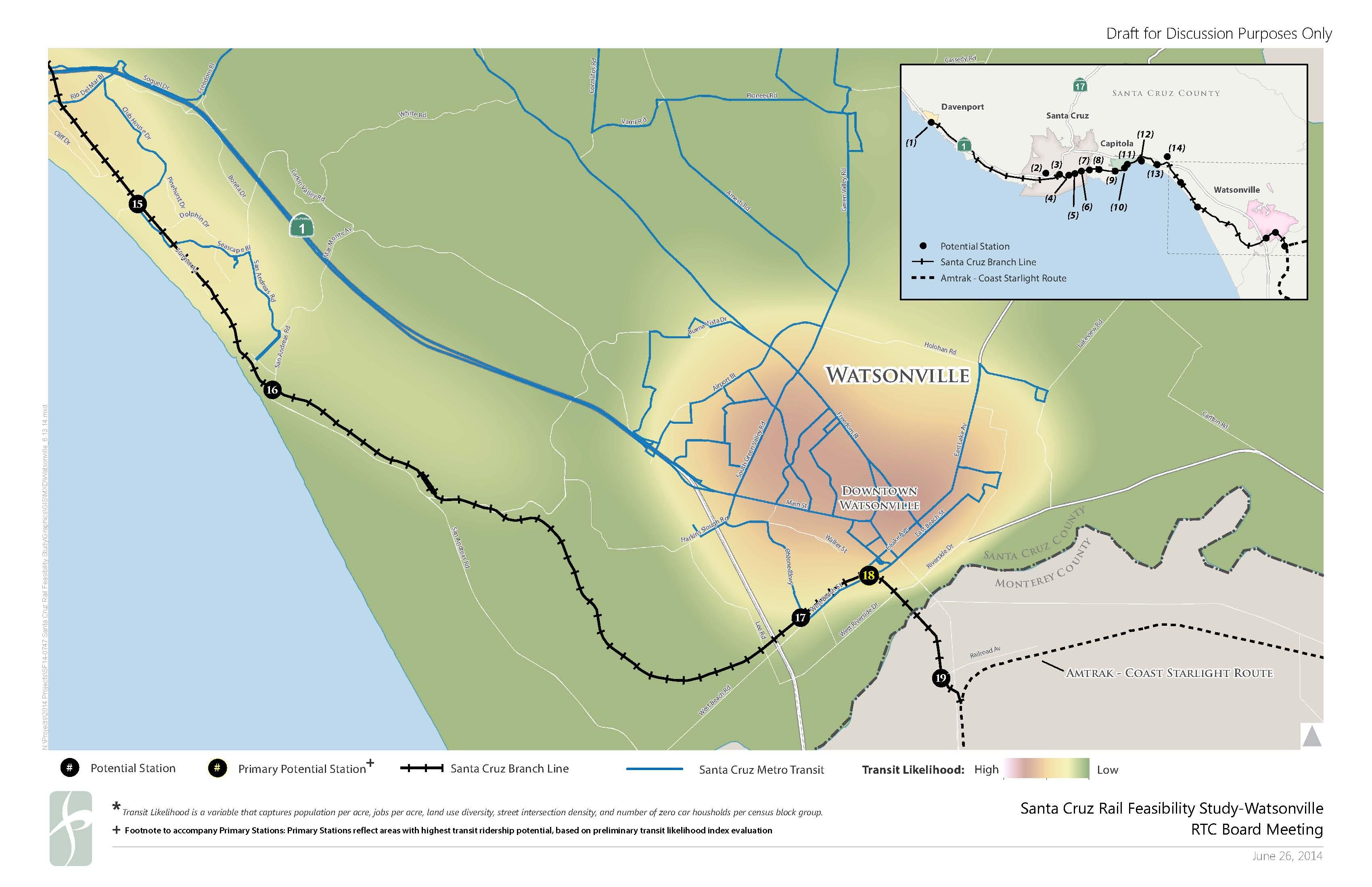 Passenger rail scenarios - Watsonville